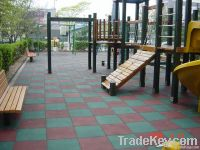 Playground rubber floor
