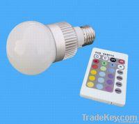 LED RGB bulb 5W E27/E14