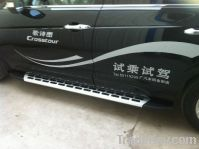 side running board used for crosstour aluminum alloy +ABS