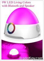 LED light speaker with Bluetooth wireless