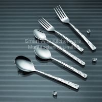 Food grade certificated dinner set of spoon fork knife