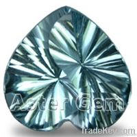 Top quality gemstone cutting service Yinyang cut, more than 9mm
