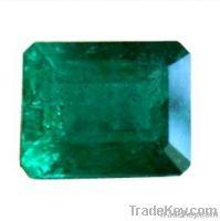 Emerald cut cabochon gemstones top color&cut Emerald Essence