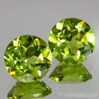 A Grade quality 6mm Round Nice Cutting Faceted Peridot Wholesaler