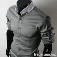 Homme 100% Cotton Semi Casual Shirt