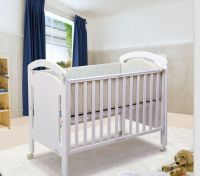 New Zealand pine baby bed, baby cribs, baby cot
