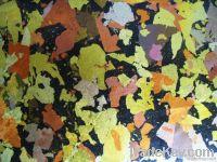 handmade metal leaf wallpaper