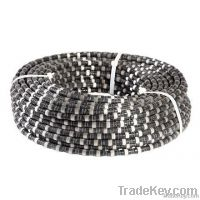 Granite wire saw for quarry cutting or blocks squaring