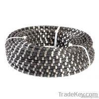 Diamond wire saw for granite, marble, limestone, sandstone quarrying