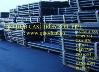 CISPI 301 ASTM A888 No-Hub Cast Iron Soil Pipe for Sanitary and Storm Drain, Waste and Vent Pipes