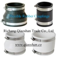 Flexible Coupling for Clay, Cast Iron, Plastic, Ductile Iron, Concrete, Copper, Steel, Lead Pipe Connection