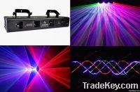 Four Head Beam Laser Light