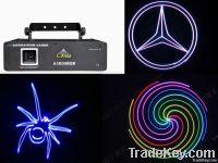 1.5 watts RGB ILDA cartoon laser