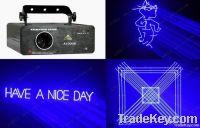 1 watt blue ILDA laser light