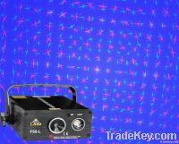 200mw RG laser with blue LED lighting