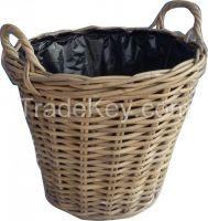 Rounded Basket with plastic included