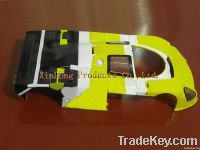 plastic slot car body