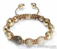 fashion style shamballa bracelet alloy rhinstone AAXF36