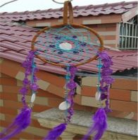 Dream Catcher Decor Korean Dramas Inheritors Lace Dream Catcher Ring Bell Wind Chime 11cm DIA Home Decorations Party Car Decor
