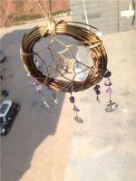 Twilight 2 Bella Gift 15cm Diameter Indian Dream Catcher Decor Feather Dream Catcher Wind Chime Souvenir Home Decoration Gift