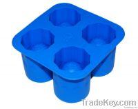 heart shape silicon ice tray