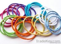 color hair tie without metal
