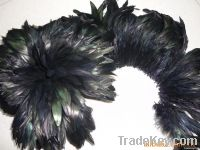 cock neck hackle  dyed