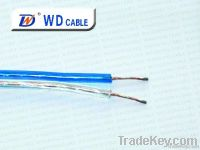 factory price:transparent speaker cable