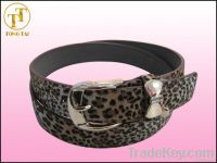 Ladies Fashion Leopard Print Belts Womens