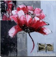 flower art oil painting by artsits
