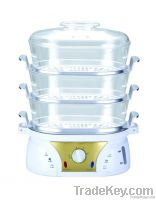 home stainless steel electrical automatic food steamer cooker