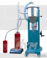semi-auto fire extinguisher powder filling machine