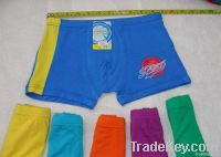 children boys hot pants, children's boxers, boy bamboo fiber underwear