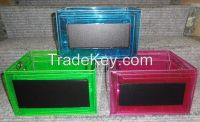 New PVC Basket/Chalk Board/Glitter PVC Basket/Storage box