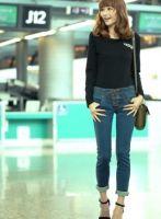 Women skinny Jeans with Draw String