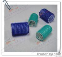 Velcro Hair Roller/clip; colorful Velcro hair clip with logo