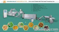 snacks food production line machinery