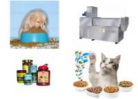dog, cat , fish pet food processing line equipment