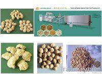 Deffated soya protein TVP/TSP extruder equipment