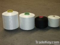 Spandex coated yarn