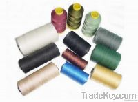 nylon6 / polyester twined thread
