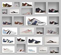 Italian shoes stock