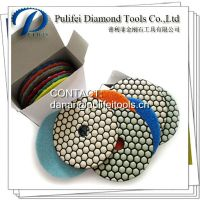 Granite Dry Diamond Polishing Pad For Electric Angle Grinder