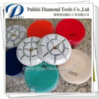 Resin Diamond Floor Polishing Pad For Stone Easy Grinding & Polishing