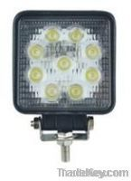 27W Square LED Work Light Off-road Vehicle Light