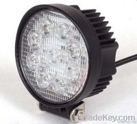 27W Round LED Work Light Off Road Off-road Vehicle Light