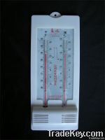 Integral hygrometer & thermometer for air-condition