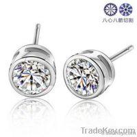 wholesale big stone earrings