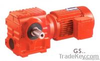 GS serial Helical Worm Geared Motor
