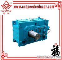 PV series helical gear unit